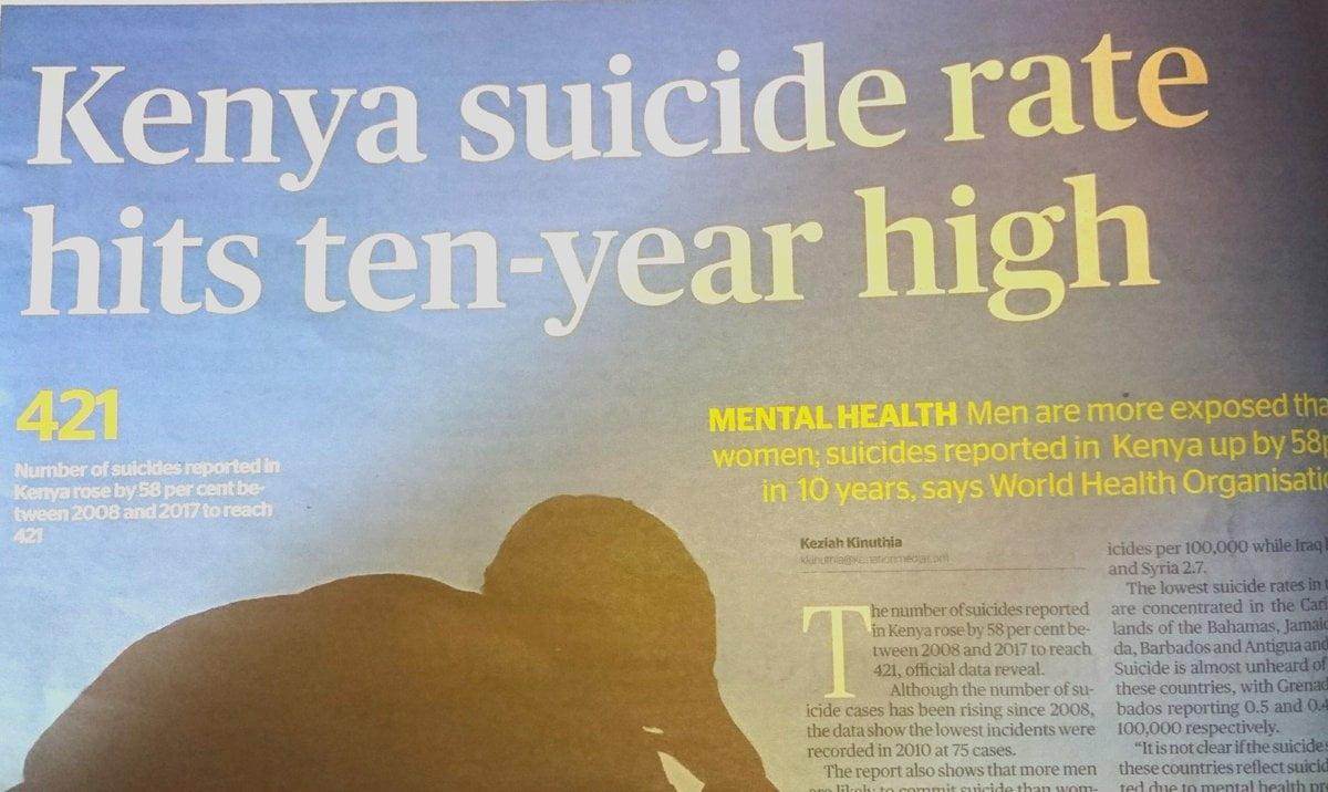 Suicide in Kenya